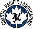 Coastal Pacific Landscaping Maple Leaf and Gnome logo